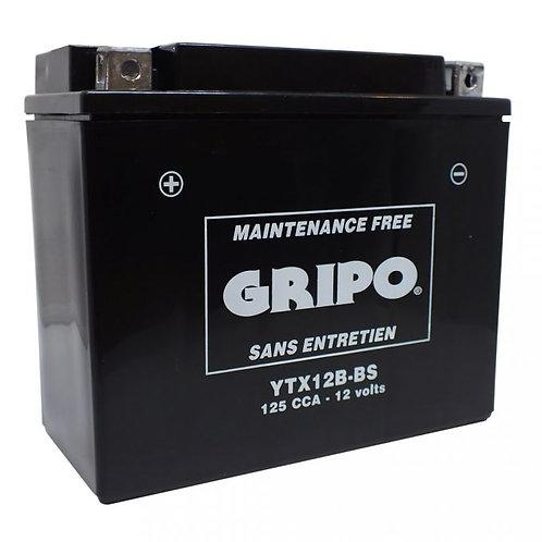 Batterie MF sans entretien YTX12B-BS Gripo