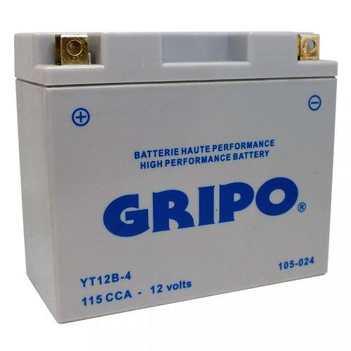 Batterie MF sans entretien YT12B4 Gripo