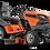 Thumbnail: Tracteur à gazon/Tondeuse Husqvarna TS 348XD
