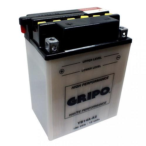 Batterie haute-performance YB14A-A2 Gripo