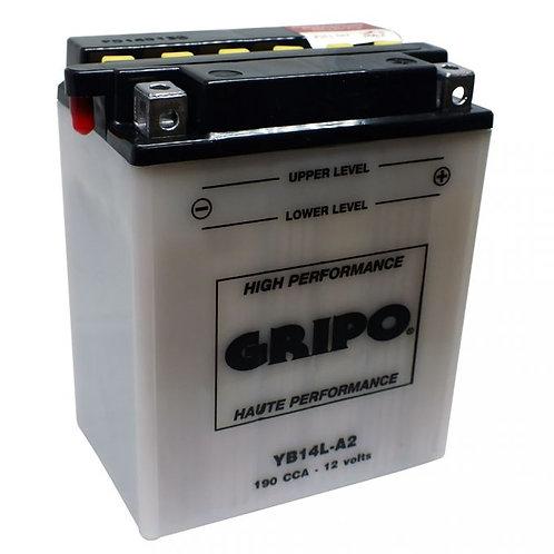Batterie haute-performance YB14L-A2 Gripo