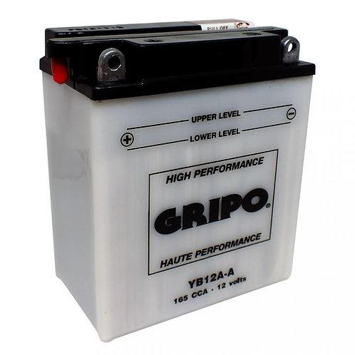 Batterie haute-performance YB12A-A Gripo