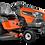 Thumbnail: Tracteur à gazon/Tondeuse Husqvarna TS 242XD