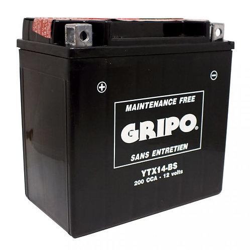 Batterie MF sans entretien YTX14-BS Gripo
