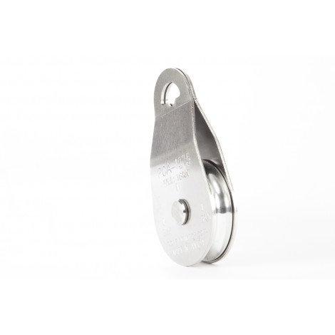 Poulie simple en acier inoxidable 1 x 76 MM PCA-1275 Portable Winch