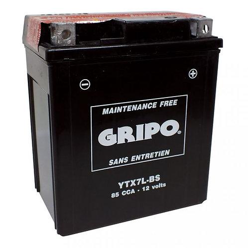 Batterie MF sans entretien YTX7L-BS Gripo