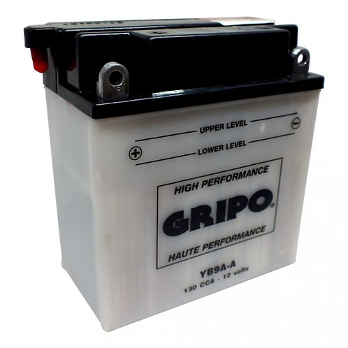 Batterie haute-performance YB9A-A Gripo