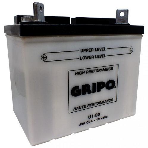 Batterie haute-performance U1-80 Gripo