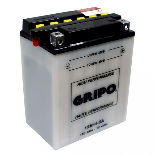 Batterie haute-performance 12N14-3A Gripo