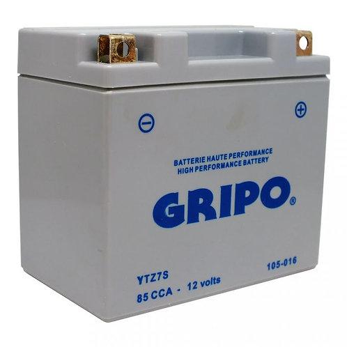 Batterie activée en usine sans entretien YTZ7S Gripo