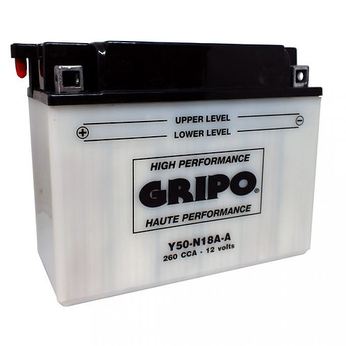 Batterie haute-performance Y50N18A-A Gripo