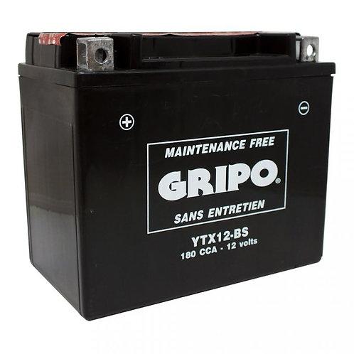 Batterie MF sans entretien YTX12-BS Gripo