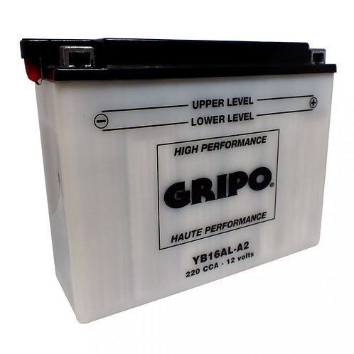 Batterie haute-performance YB16AL-A2 Gripo