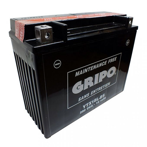 Batterie MF sans entretien YTX18L-BS/Y1X50L-BS Gripo