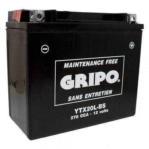 Batterie MF sans entretien YTX20L-BS Gripo