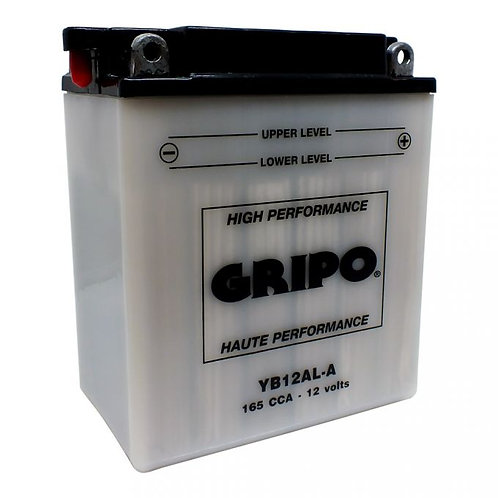 Batterie haute-performance YB12AL-A Gripo