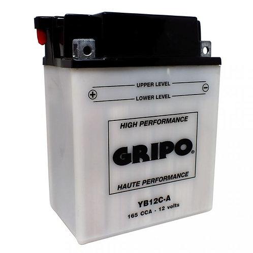 Batterie haute-performance YB12C-A Gripo