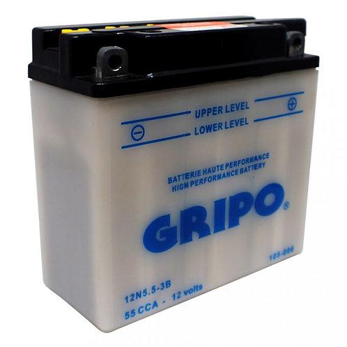 Batterie haute-performance 12N5.5-3B Gripo