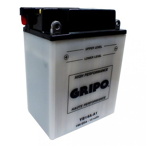 Batterie haute-performance YB14A-A1 Gripo