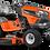 Thumbnail: Tracteur à gazon/Tondeuse Husqvarna TS 248G