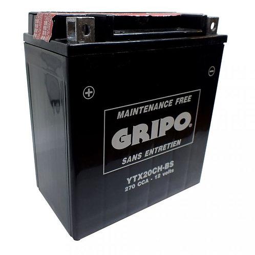 Batterie MF sans entretien YTX20CH-BS Gripo