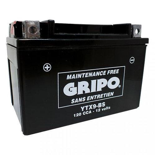 Batterie MF sans entretien YTX9-BS Gripo