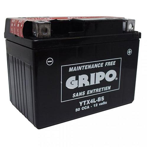 Batterie MF sans entretien YTX4L-BS Gripo
