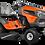 Thumbnail: Tracteur à gazon/Tondeuse Husqvarna TS 146XD
