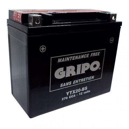 Batterie MF sans entretien YTX20-BS Gripo