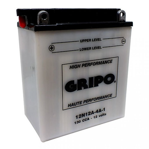 Batterie haute-performance 12N12A-4A-1 Gripo