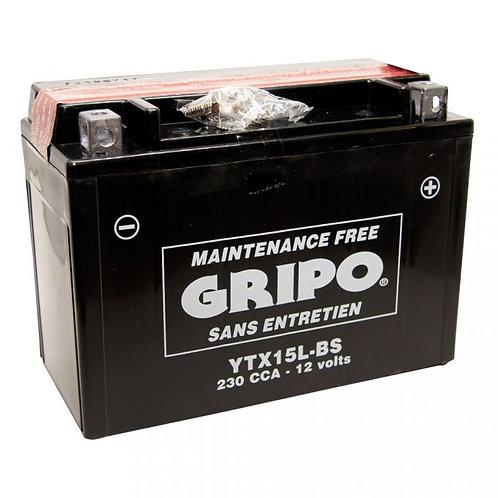 Batterie MF sans entretien YTX15L-BS Gripo
