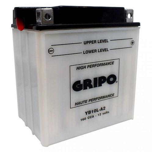 Batterie haute-performance YB10L-A2 Gripo