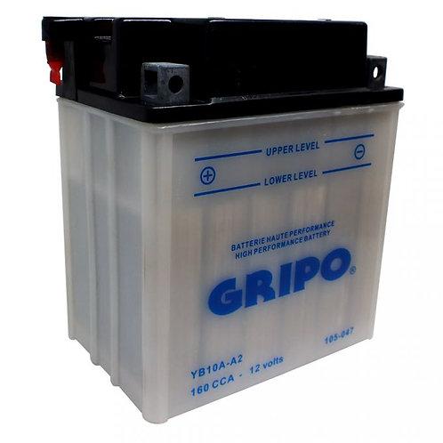 Batterie haute-performance YB10A-A2 Gripo