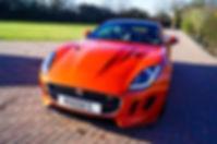 Firesand Orange Jaguar F-Type