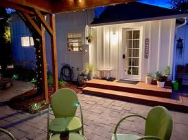Cuvee Cottage Guest Entrance