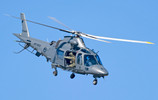 RNZAF_A109_helicopter_at_the_2012_Wanaka