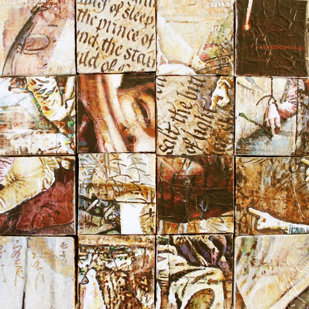 16 piezas de puzzle 50x50