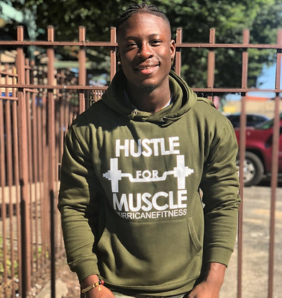 """Hustle For Muscle"" Hoodies"