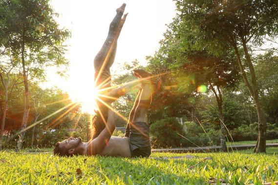 Acro Yoga Vibes