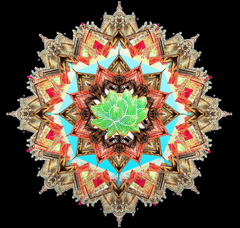 Thai Lotus Mandala