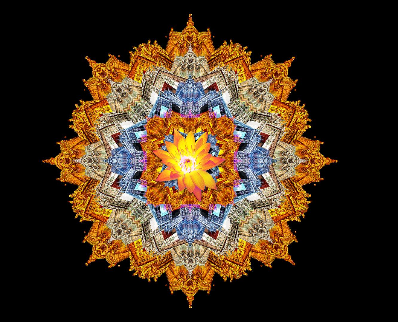 Thailand Lotus Mandala