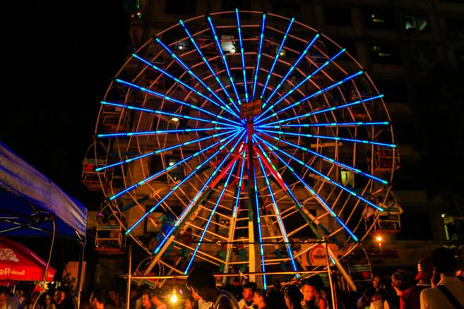Man Powered Ferris Wheel