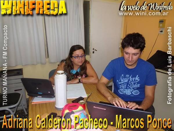 facilitadores pedagógicos Marcos Ponce y Adriana Calderón Pacheco
