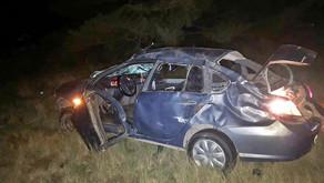Murió una bombera de Miguel Cané en un vuelco cerca de Winifreda