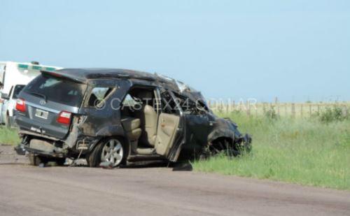 Un joven castense falleció este domingo por la mañana en un vuelco en el kilómetro 64 de la ruta provincial 102