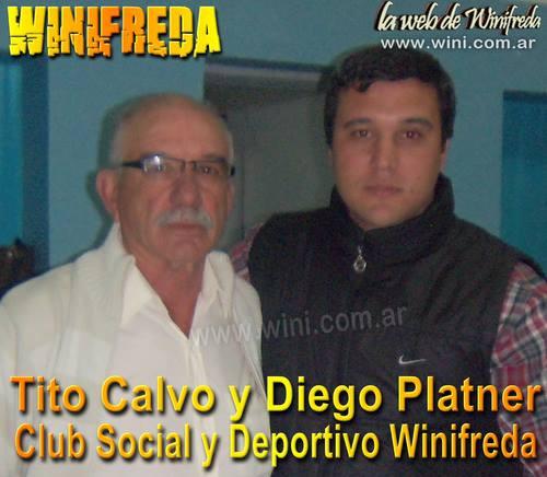 """Roberto """"Tito"""" Calvo y Diego Platner culminan su mandato al frente del Club"""