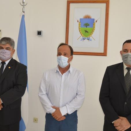 Daniel Omar Guinchinau es el nuevo jefe de la Policía y Carlos Raúl Sosa, el subjefe
