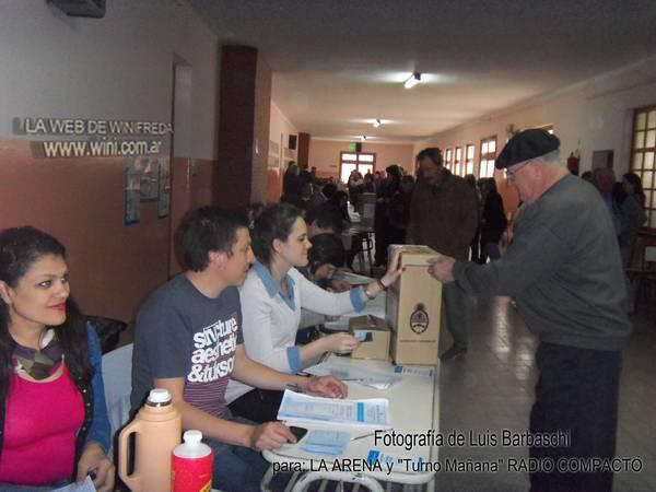 elecciones en Winifreda