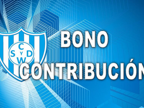 Nuevo sorteo del Bono Contribución de las categorías de inferiores