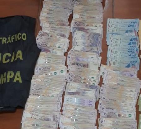 Se detuvo en Neuquén al destinatario de la droga incautada en Catriló